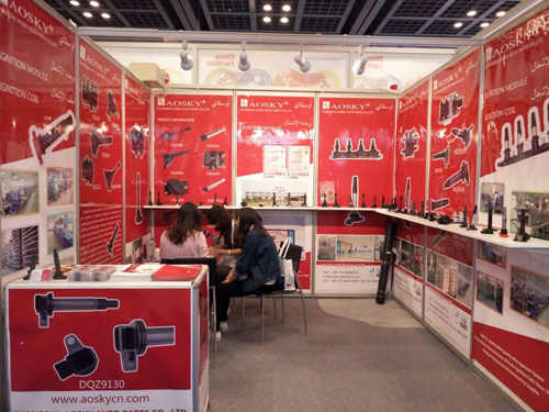 Participating Frankfurt Auto Parts Exhibition In Shanghai